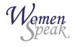 womenspeak logo